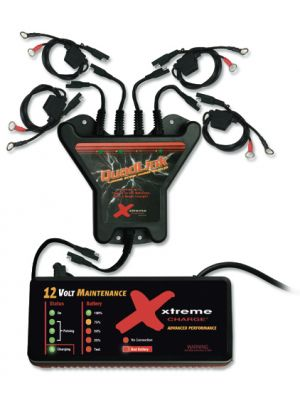 Xtreme Charge 4-Station QuadLink Battery Charger Kit