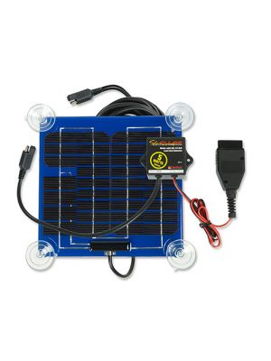 SolarPulse SP-5-OBD-A 12V Temporary Solar Charger Maintainer, 5W