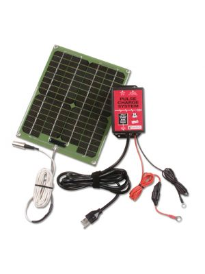 SPCS 24V PulseTech 24V Pulse Charge System w/ Solar Panel, 6W
