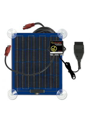 SolarPulse SP-7-OBD-A 12V Temporary Solar Charger Maintainer, 7W