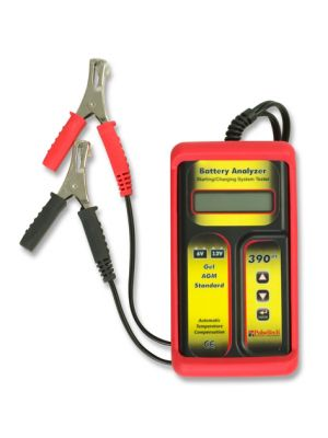 390PT PulseTech Battery Analyzer, 6V and 12V Battery Tester