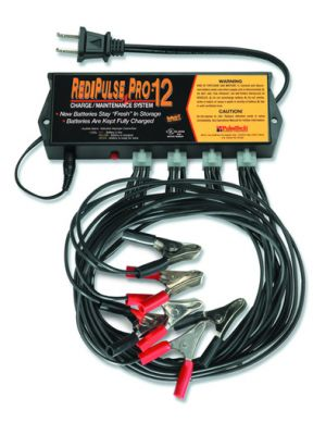 PRO-12-RP RediPulse 12 Station Battery  Maintenance System