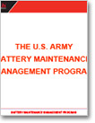 U.S. Army Battery Maintenance Management Program